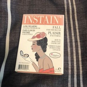 The Balm Instain Blush in Swiss Dot